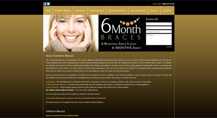 6 Month Braces | 6 Month Smiles Website
