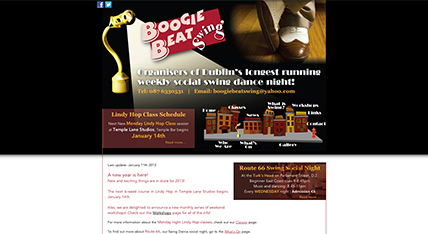 Boogie Beat Swing Website | Swing Dancing Ireland
