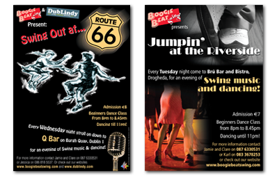 Swing Dance Flyers