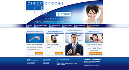 Clear Braces Group Website