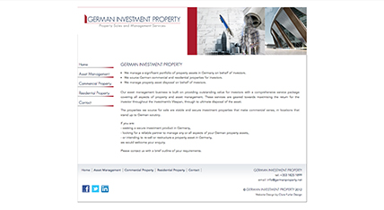 German Investment Property Website