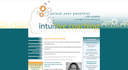 Intuitive Coaching Website