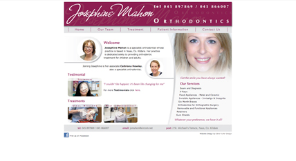 Josephine Mahon Website | Orthodontist