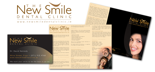 The New Smile Dental Clinic | Logo | Business Card | Brochure