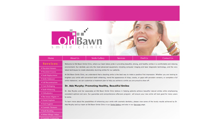 Old Bawn Dental Clinic Website