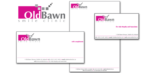 Old Bawn Dental Clinic | Logo | Business Card | Letterhead | Compliment Slip