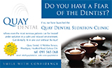 Quay Dental Sedation Advert