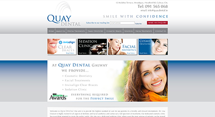 Quay Dental Galway Website